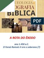 Aula - 4 - Arqueologia e Geografia Bíblica