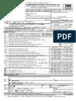 Jewish Federations of North America 2008 Form 990