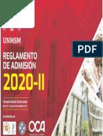 Prospecto de Admision San Marcos 2020 - 2