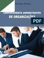 Livro - Comportamento Administrativo de organizações