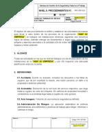 PRC-SST-023 Procedimiento Seguro de Trabajo de Riesgo Eléctrico.docx