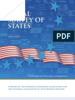 Fiscal Survey of the States Fall 2010