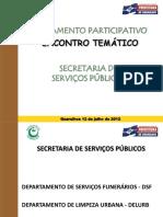 Apresentação SSP O.P. 2012