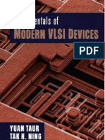 Fundamentals of Modern VLSI Devices(CUP,1998)