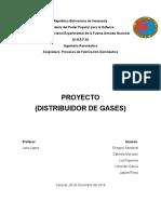 Proyecto Distribuidor de Gases