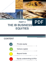 2. The IB Business of Equities