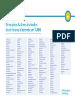 Listado de medicamentos gratuitos del PAMI