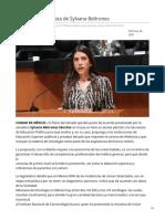 24/Febrero/2020 Aprueban propuesta de Sylvana Beltrones