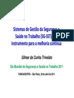 Trivelato, 2011 - Sistemas de Gestao de SST(2).pdf