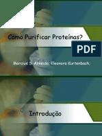 Como purificar proteinas artigo apresentaçãp