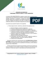 REGLAMENTO DE REGIMEN CONDOMINIO Y PRESUPUESTO