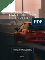 mazda_ebook_5 tips para el mantenimiento