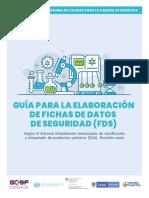 GUÍA PARA LA ELABORACIÓN DE FICHAS DE DATOS DE SEGURIDAD (FDS)