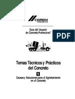 Causas y Soluciones para el Agrietamiento en el Concreto