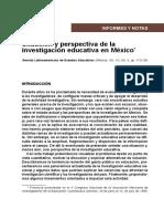 Situación y perspectiva de la educación