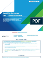 VMware Solution Portfolio and Competitive Guide for Partners