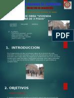 SEGUIMIENTO DE OBRA - PROGRAMACION EN INGENIERIA - UNC - PRESENTACION