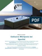 Flow Spa Outdoor Whirlpools - www.spa-vital.de