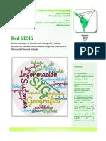 Boletín Red GESIG 11 (2019)