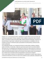 02-12-2019 Inaugura Héctor Astudillo escuela en la zona suburbana de Acapulco.