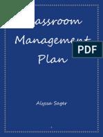classroom management plan final
