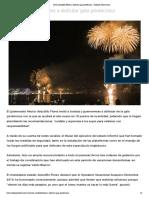 30-12-2019 Invita Astudillo Flores a disfrutar gala pirotécnica.