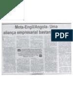 Mota-Engil/Angola - Uma aliança empresarial bastante virtuosa