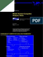 070麦肯锡_三星竞争对手分析(NOKIA)