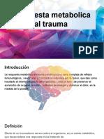 Respuesta metabolica al trauma.CIRUGIA (1)