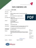 Laumas Certificado Evaluación Oiml r61 Mid Serie w Es