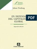 El defensa del capitalismo global - Johan Norberg