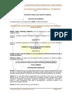 Ley de Aparatos Auditivos Gratuitos en La Ciudad de México.