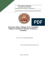 Estructura, Redes y Rituales de la Comunidad Camentza - Putumayo Sibundoy