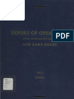 WWII 12th Army Group Report