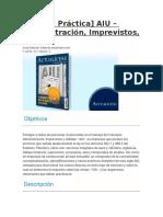 CARTILLA PRACTICA SOBRE EL AIU EN COLOMBIA - copia