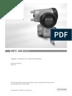 Krohne-mfc400-manual
