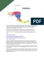 Países de América Central y sus capitales
