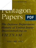 The Pentagon papers - the Defense Department history of United States decisionmaking on Vietnam (Vol. I).pdf