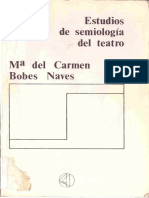 Bobes Naves, María del Carmen - Estudios de semiología del teatro
