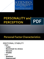 Personality Perception