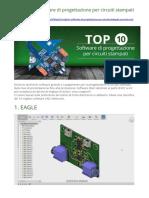 10 migliori software di progettazione per circuiti stampati