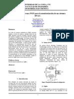 Establecimiento de una WSN para la monitorización de un sistema HVAC