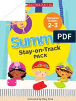 Summer Stay on Track grades 2 to 3
