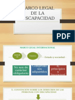 MARCO LEGAL DE LA DISCAPACIDAD-CLASE 2