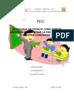 modelo de PEIC