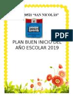 PLAN DEL BUEN INICIO DEL AÑO ESCOLAR 2014 - copia.docx