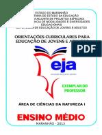 AREA DE CIENCIAS DA NATUREZA - EJA