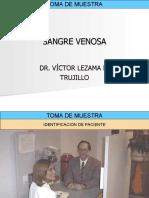 1. TOMA DE MUESTRA - SANGRE