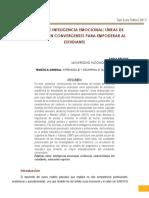 Resiliencia e int emocional-2017-ponencia