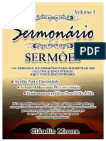 100 Sermões organizados por Claudio Moura